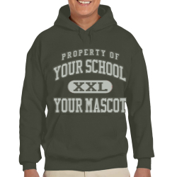 Illinois Valley Central High School Custom Hooded Sweatshirt