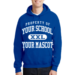 Jefferson Craig Elementary School Custom Hooded Sweatshirt