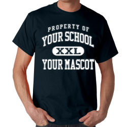 Browning Springs Middle School Custom Adult T-shirt