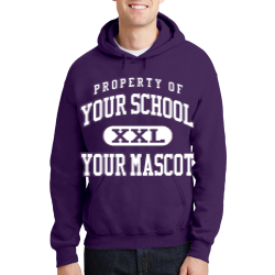 Cathedral High School Custom Hooded Sweatshirt