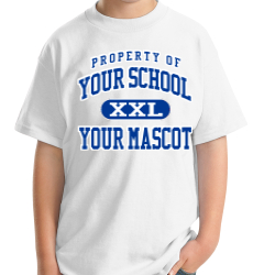 Bath Middle School Custom Youth T-shirt