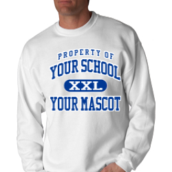 Bath Middle School Custom Crewneck Sweatshirt