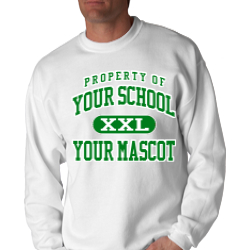 West Lincoln Attendance Center Custom Crewneck Sweatshirt
