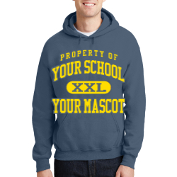 Dublin Christian Academy Custom Hooded Sweatshirt