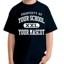 Hunter Middle School Custom Youth T-shirt