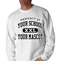 Travis Middle School Custom Crewneck Sweatshirt