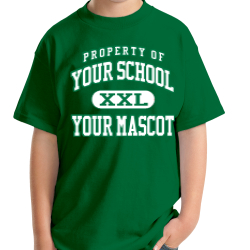 Alpha Elementary School Custom Youth T-shirt