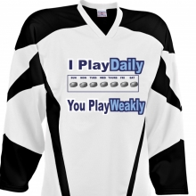 Custom Hockey Jersey Design #27