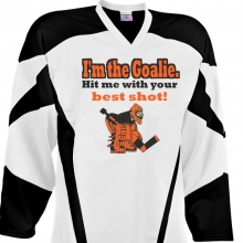 Custom Hockey Jersey Design #30